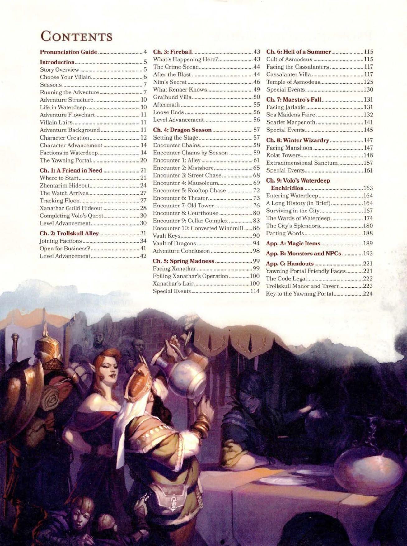 D&D Waterdeep: Dragon Heist manual