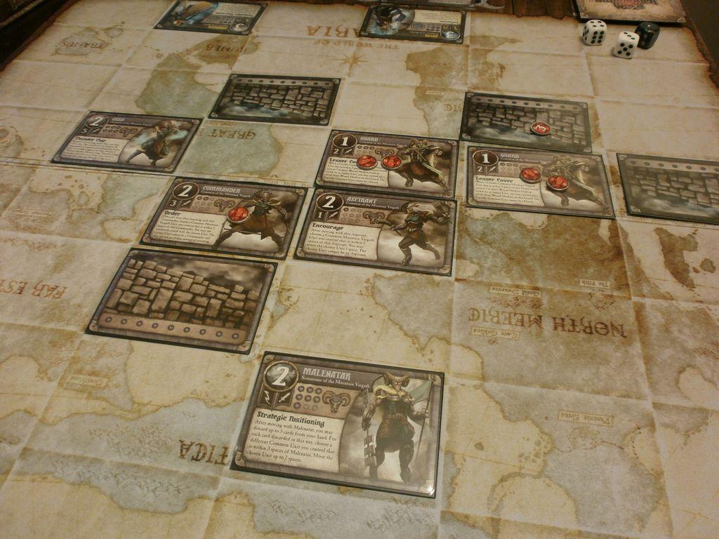 Summoner Wars: Mountain Vargath - Second Summoner gameplay