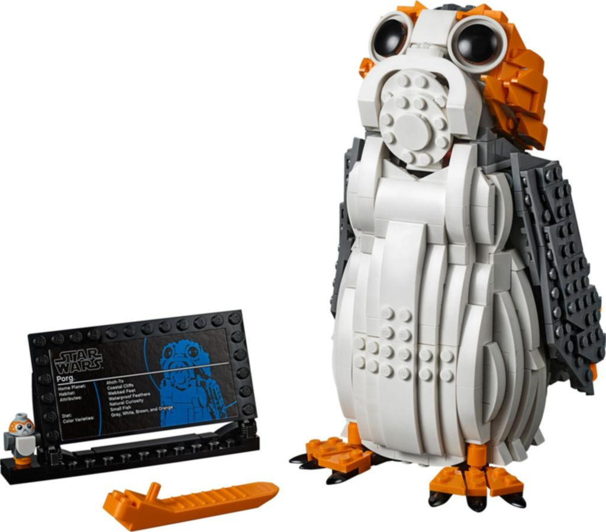 LEGO® Star Wars Porg™ components