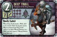 Summoner Wars: Piclo's Magic Reinforcement Pack Deep troll card