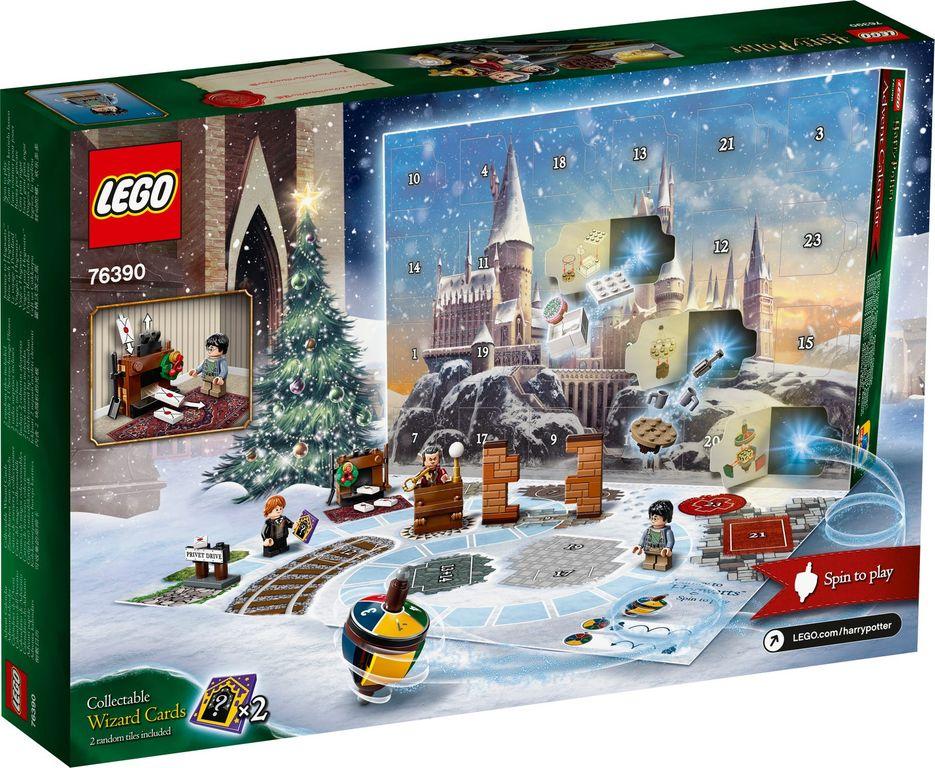 LEGO® Harry Potter™ Advent Calendar 2021 back of the box