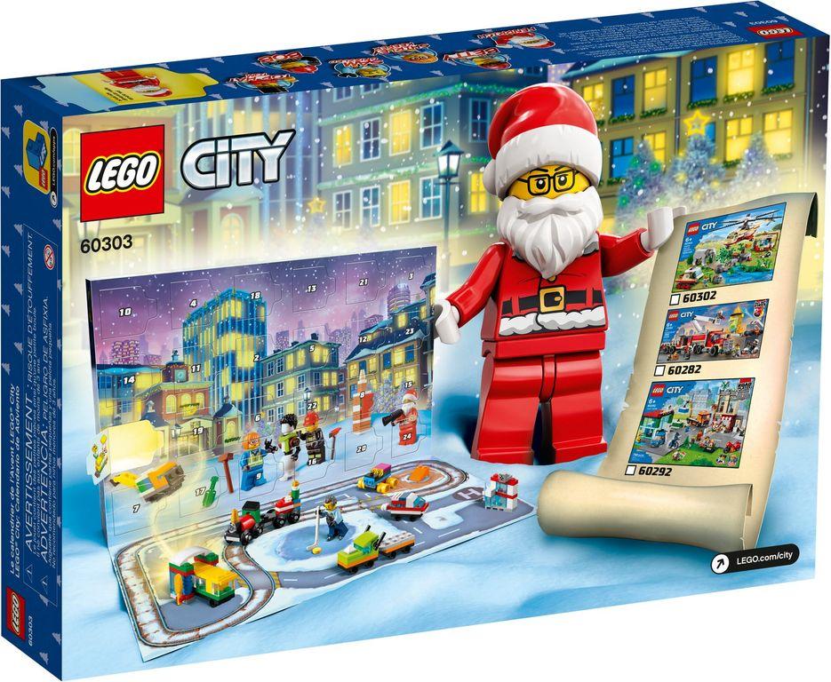 LEGO® City Advent Calendar 2021 back of the box