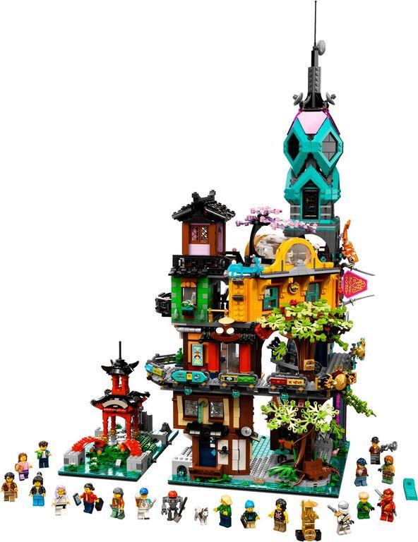LEGO® Ninjago NINJAGO® City Gardens components