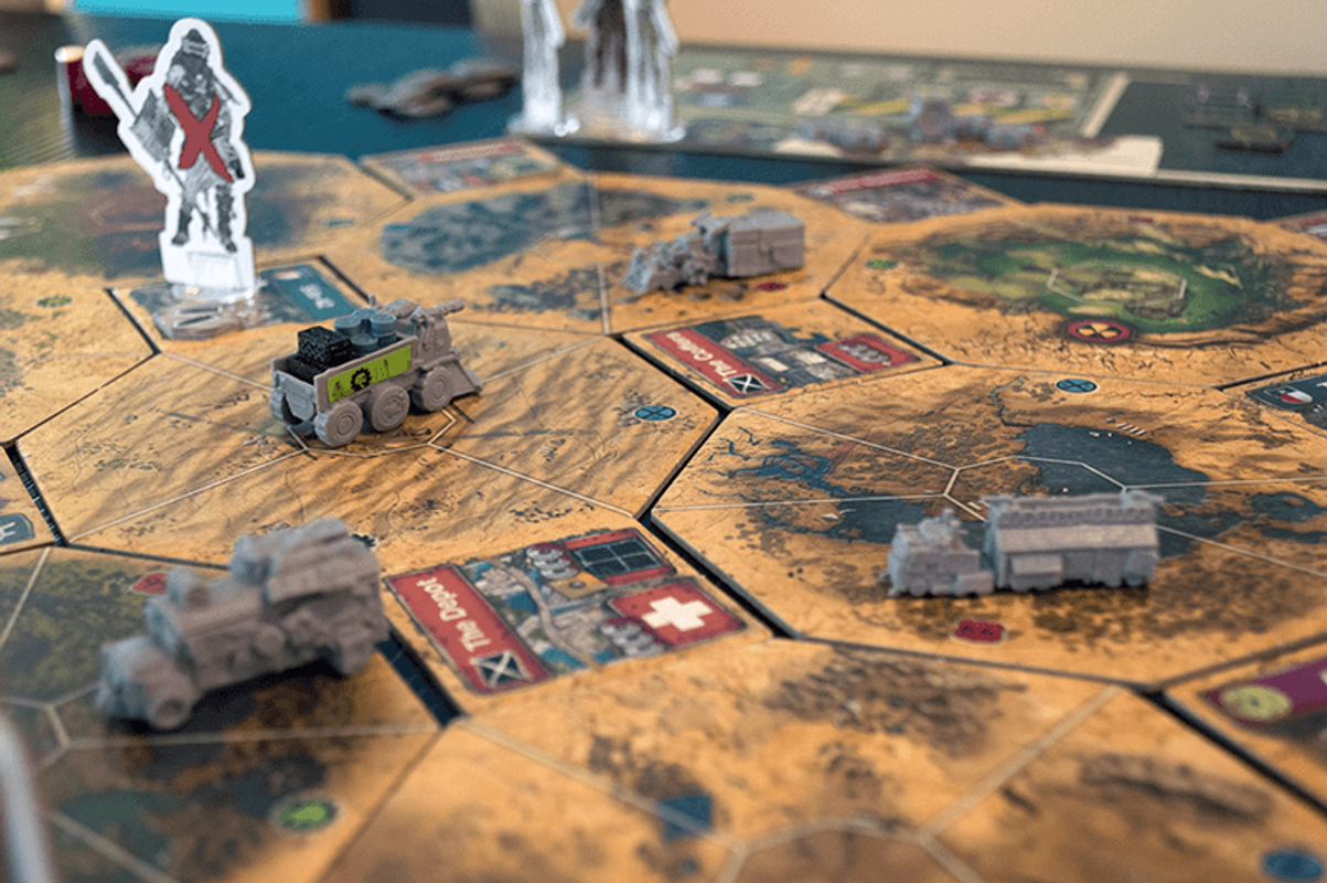 Wasteland Express Delivery Service gameplay