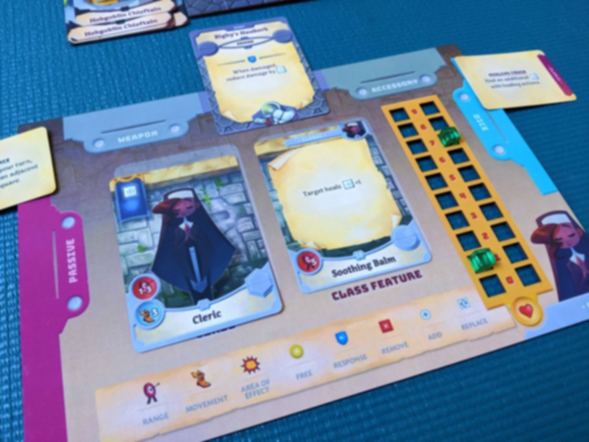 Adventure Tactics: Domianne's Tower components