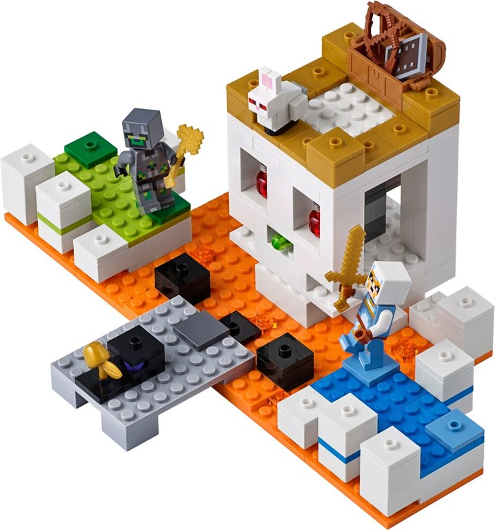 LEGO® Minecraft The Skull Arena components