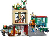 LEGO® City Town Center back side