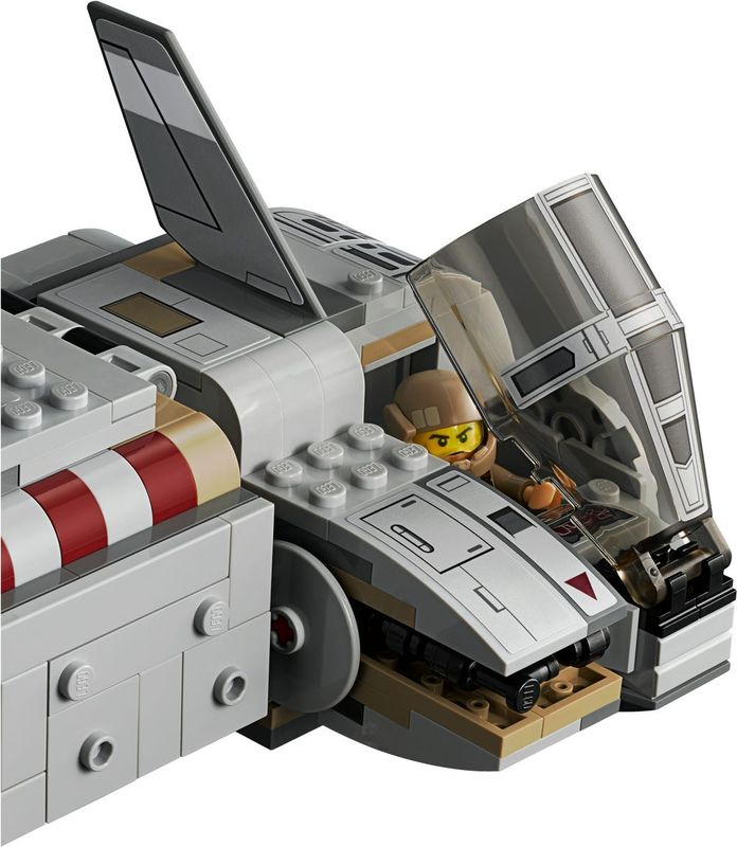 Resistance Troop Transporter components