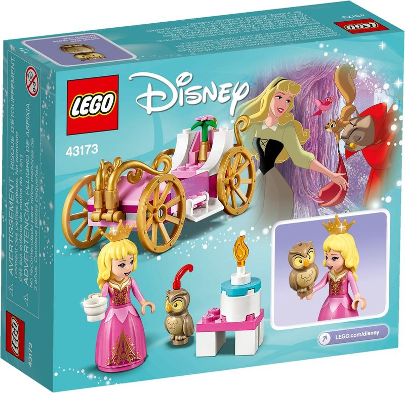 Aurora's Royal Carriage back of the box