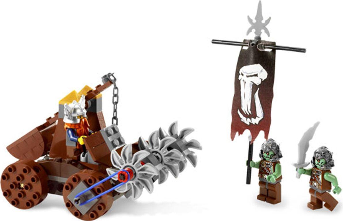 LEGO® Castle Dwarves Mine Defender components