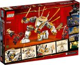 LEGO® Ninjago Golden Mech back of the box
