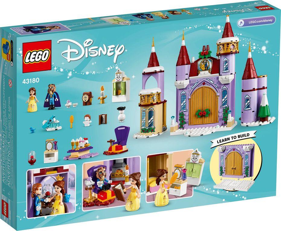 LEGO® Disney Belle's Castle Winter Celebration back of the box