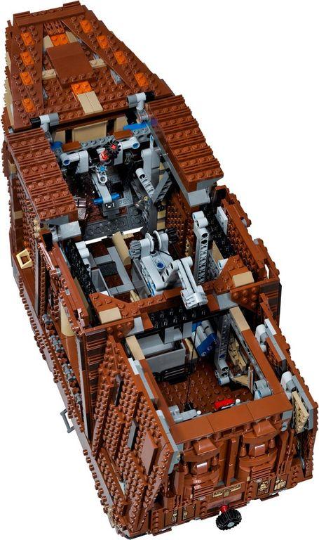 Sandcrawler™ interior