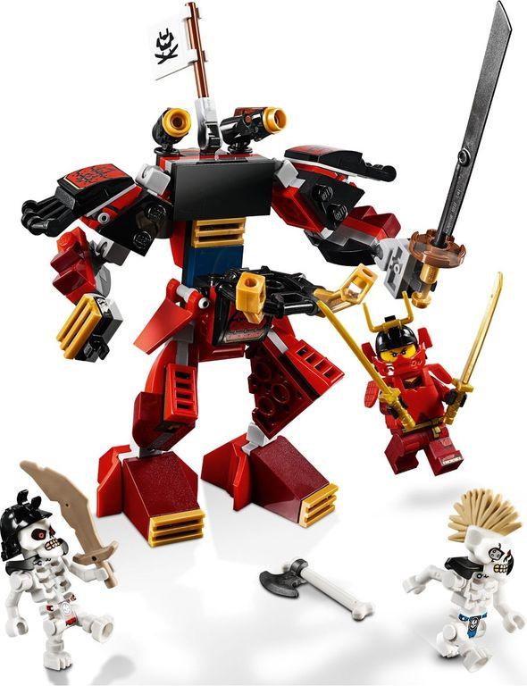 The Samurai Mech components