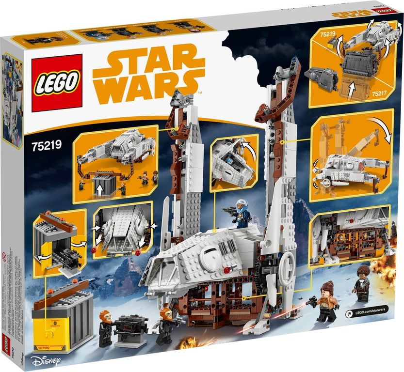 LEGO® Star Wars Imperial AT-Hauler™ back of the box
