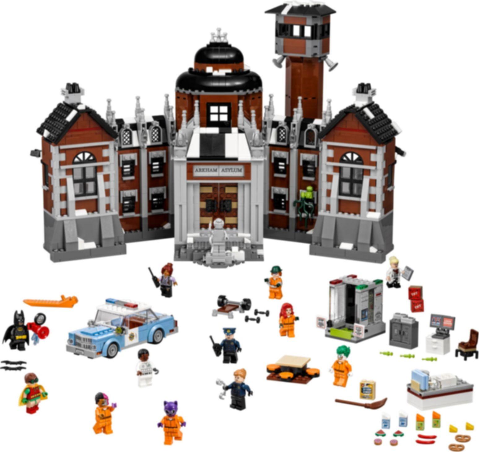 LEGO® Batman Movie Arkham Asylum components