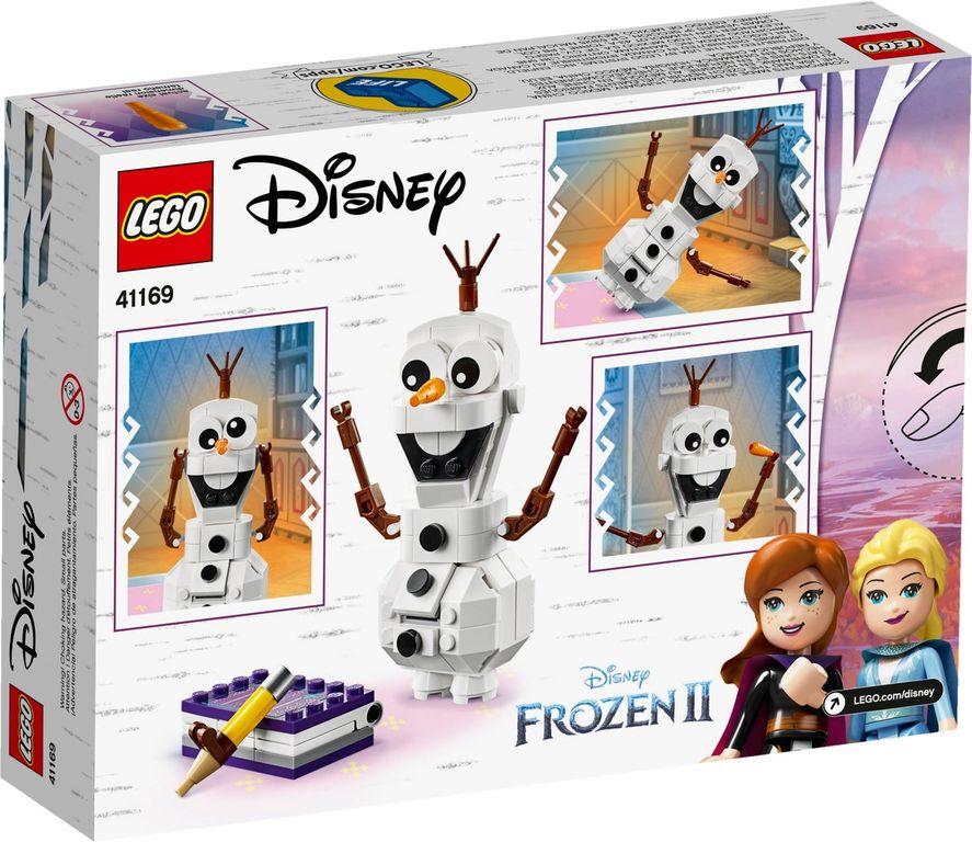 LEGO® Disney Olaf back of the box