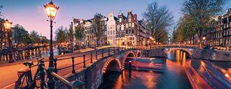 Evening in Amsterdam