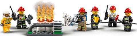 LEGO® City Fire Station Headquarters minifigures