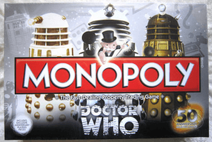 Doctor Who Monopoly 50th Anniversary Collectors Edition