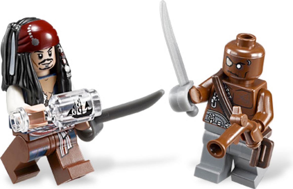 LEGO® Pirates of the Caribbean Captain's Cabin minifigures
