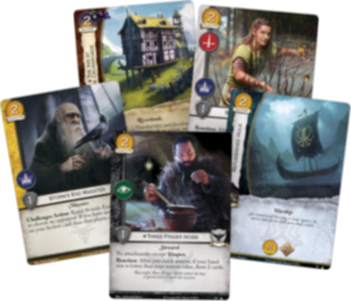 A Game of Thrones: The Card Game (Second Edition) – In Daznak's Pit cards