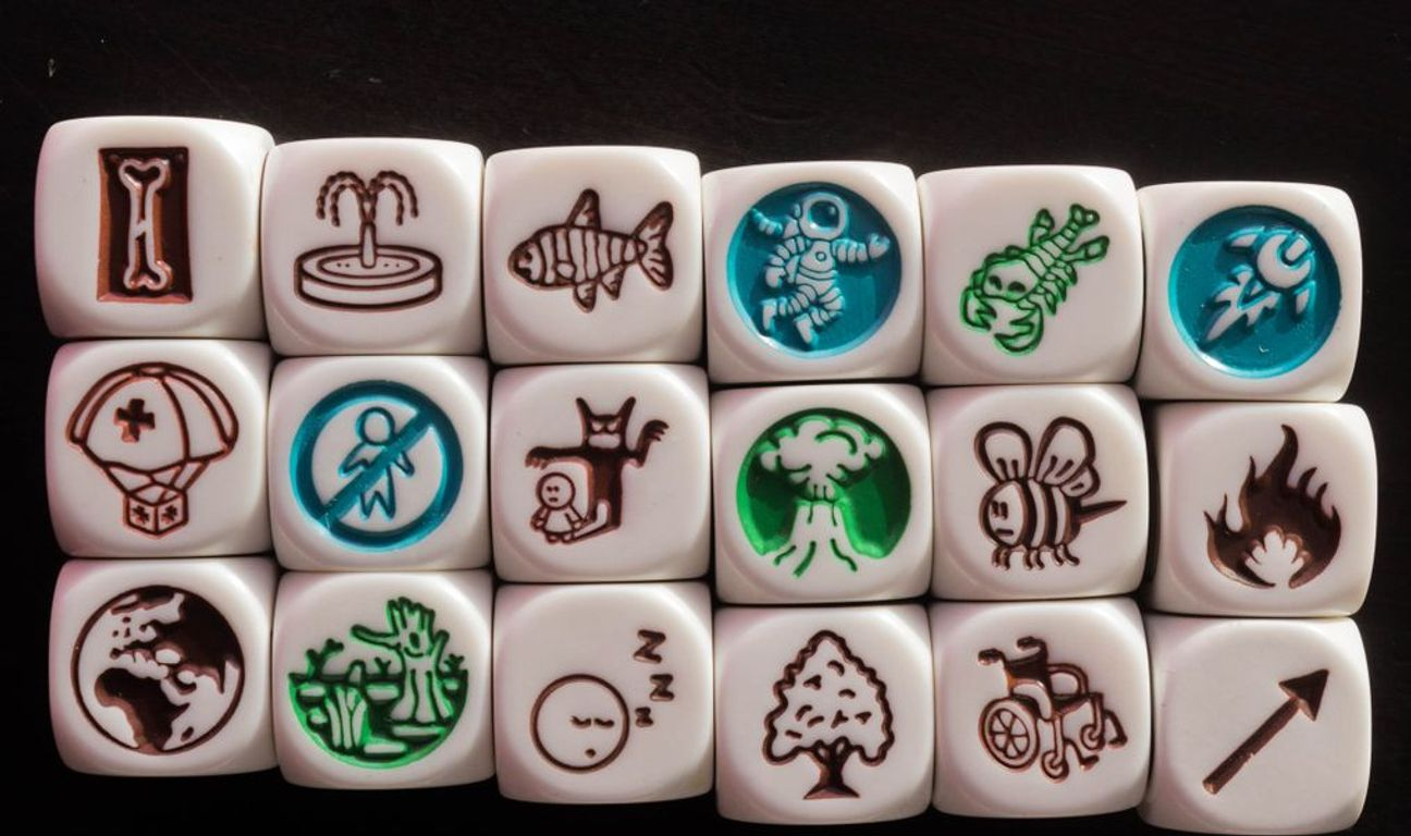 Rory's Story Cubes: Prehistoria dice
