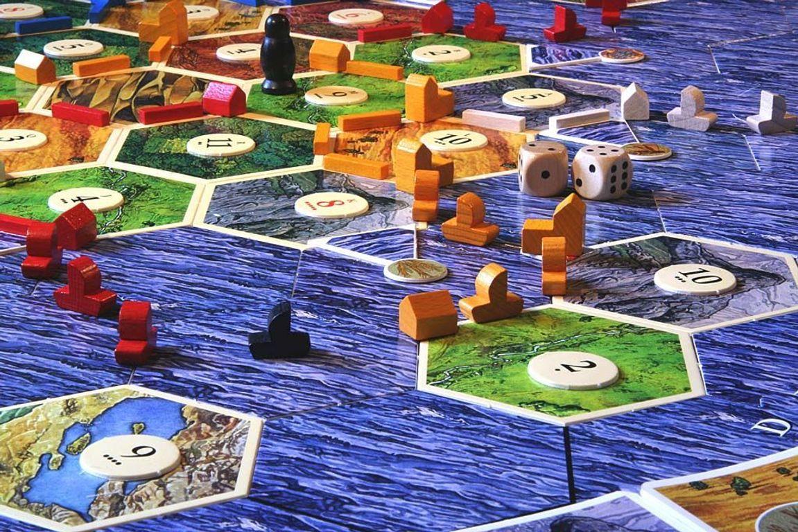 Catan: Seafarers gameplay