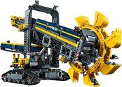 LEGO® Technic Bucket Wheel Excavator components