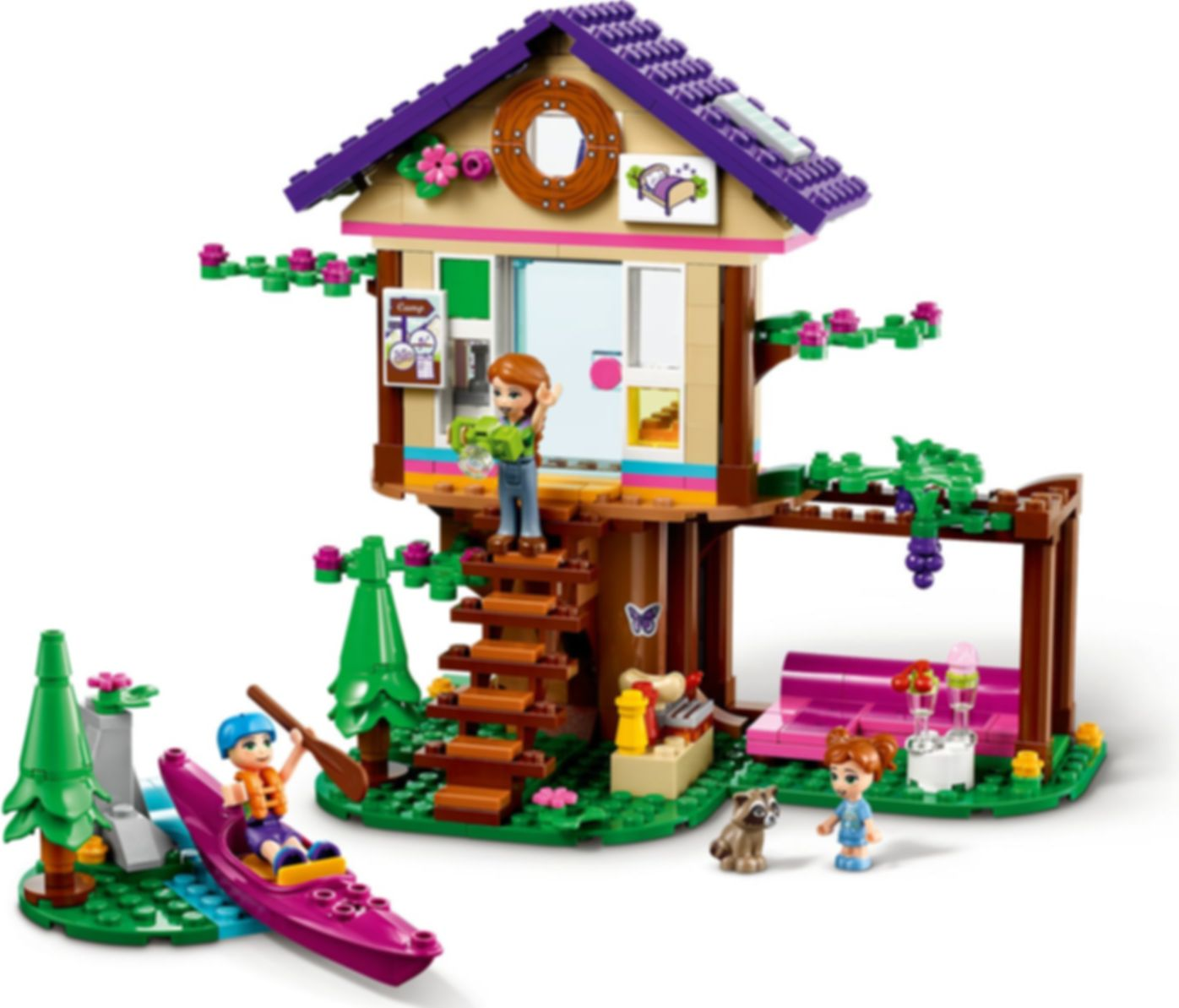 LEGO® Friends Forest House gameplay