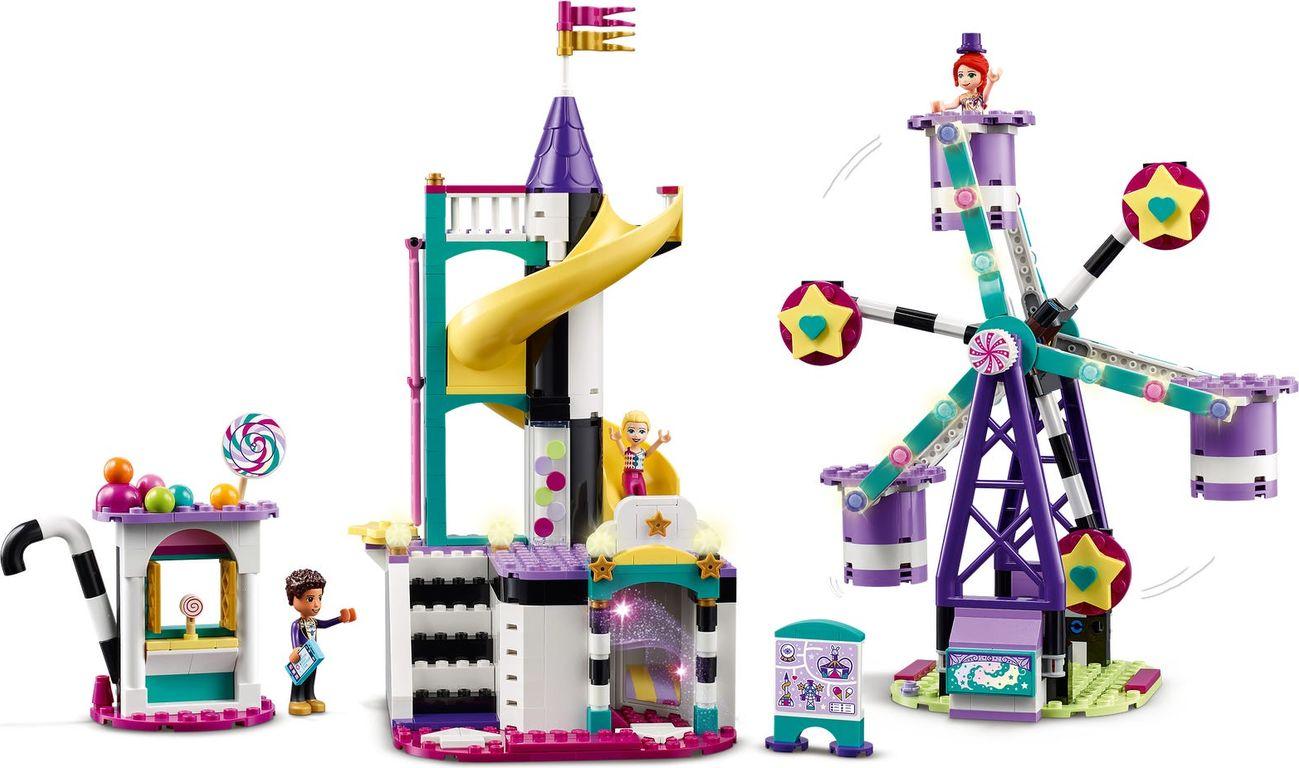 LEGO® Friends Magical Ferris Wheel and Slide gameplay
