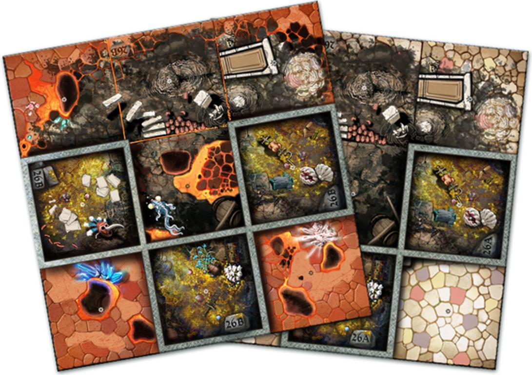Arcadia Quest: Chaos Dragon tiles
