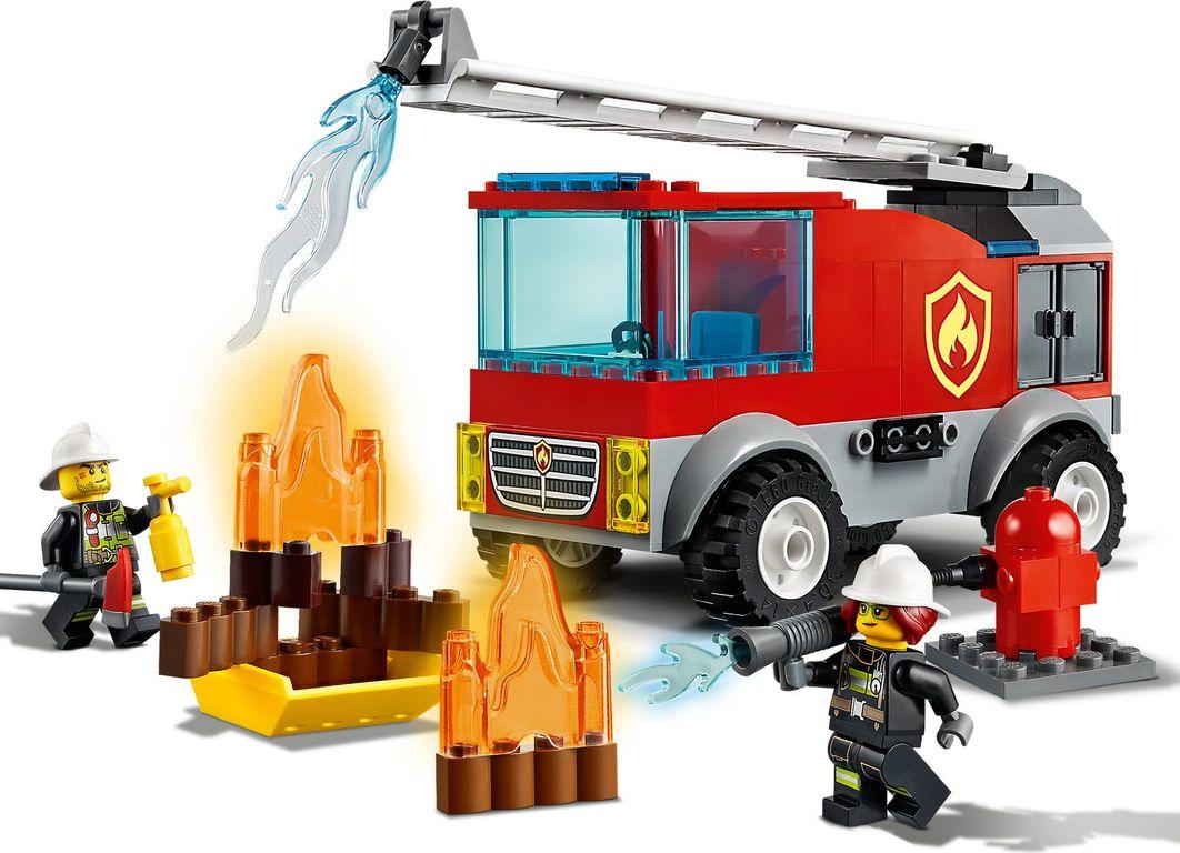 Fire Ladder Truck gameplay