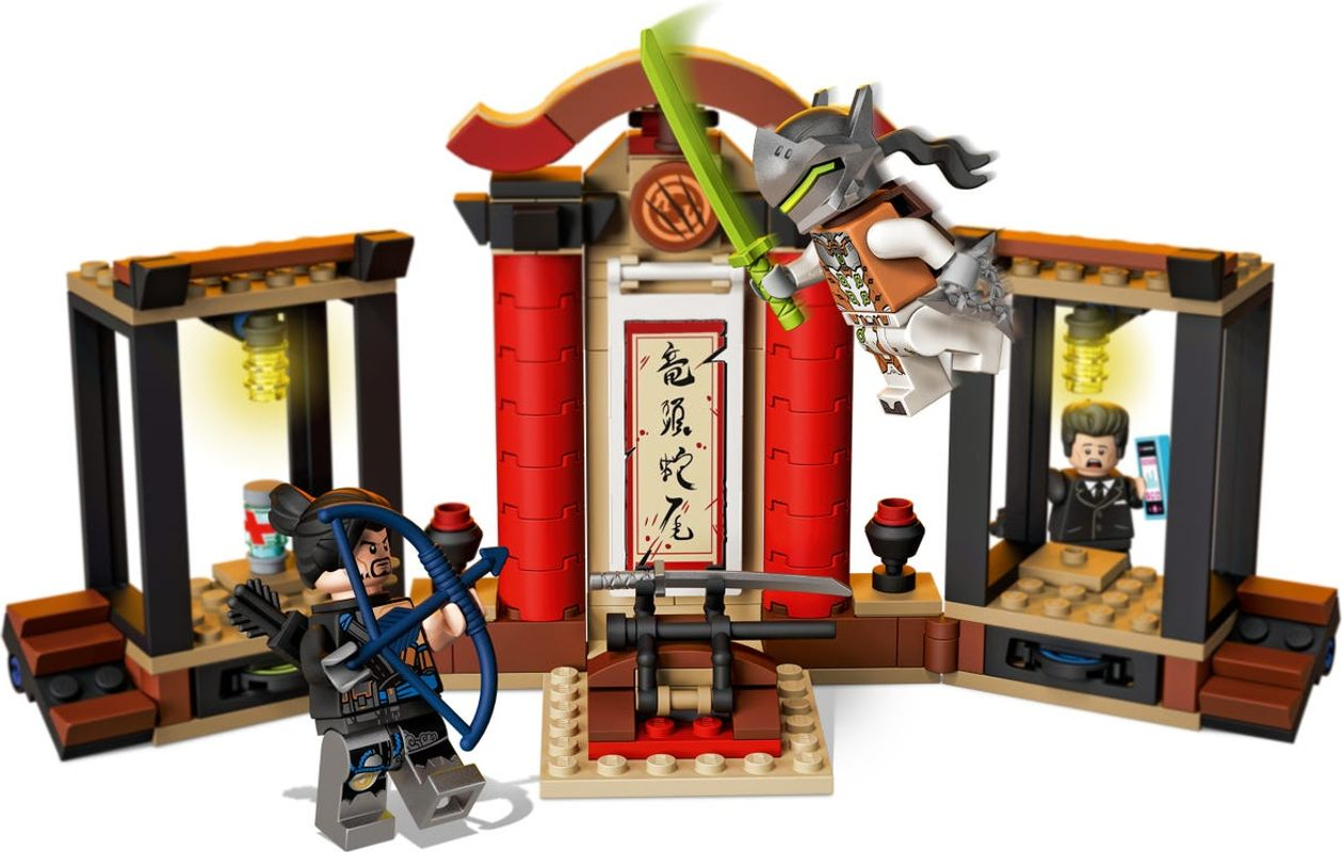 Hanzo vs. Genji components