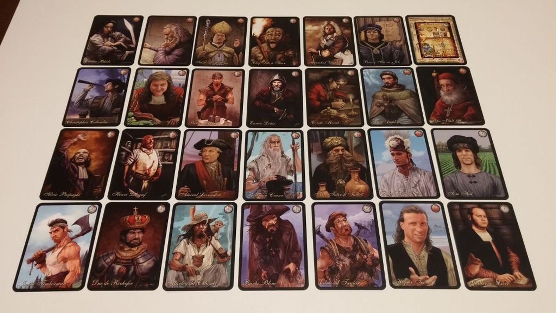 Archipelago: Solo Expansion cards