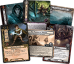 The Lord of the Rings: The Card Game - The Land of Shadow cards