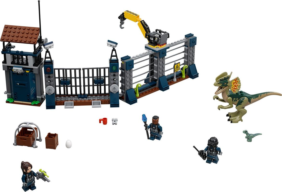 Dilophosaurus Outpost Attack components