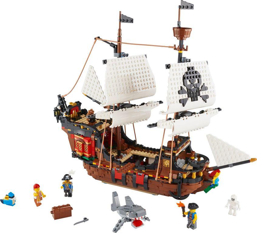 Pirates Ship components