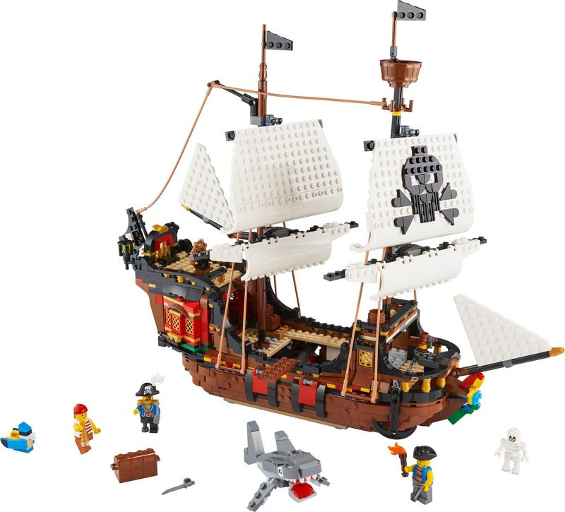LEGO® Creator Pirates Ship components