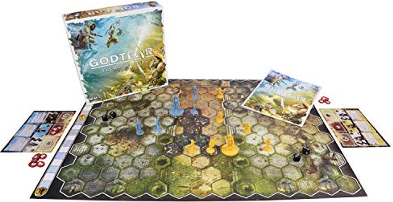 Godtear: The Borderlands Starter Set game board