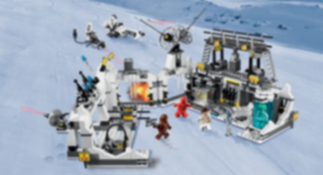Hoth Echo Base gameplay