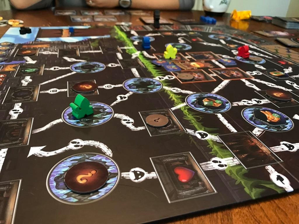 Clank!: A Deck-Building Adventure gameplay