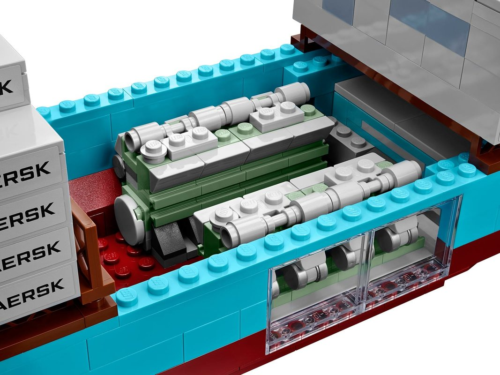 Maersk Line Triple-E interior