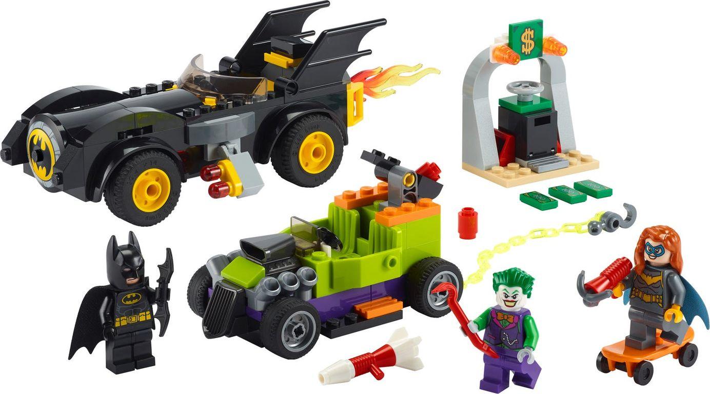 LEGO® DC Superheroes Batman™ vs. The Joker™: Batmobile™ Chase components
