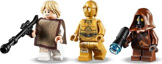 LEGO® Star Wars Luke Skywalker's Landspeeder™ minifigures