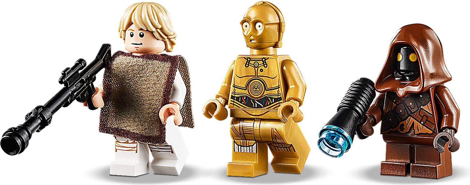 Luke Skywalker's Landspeeder™ minifigures