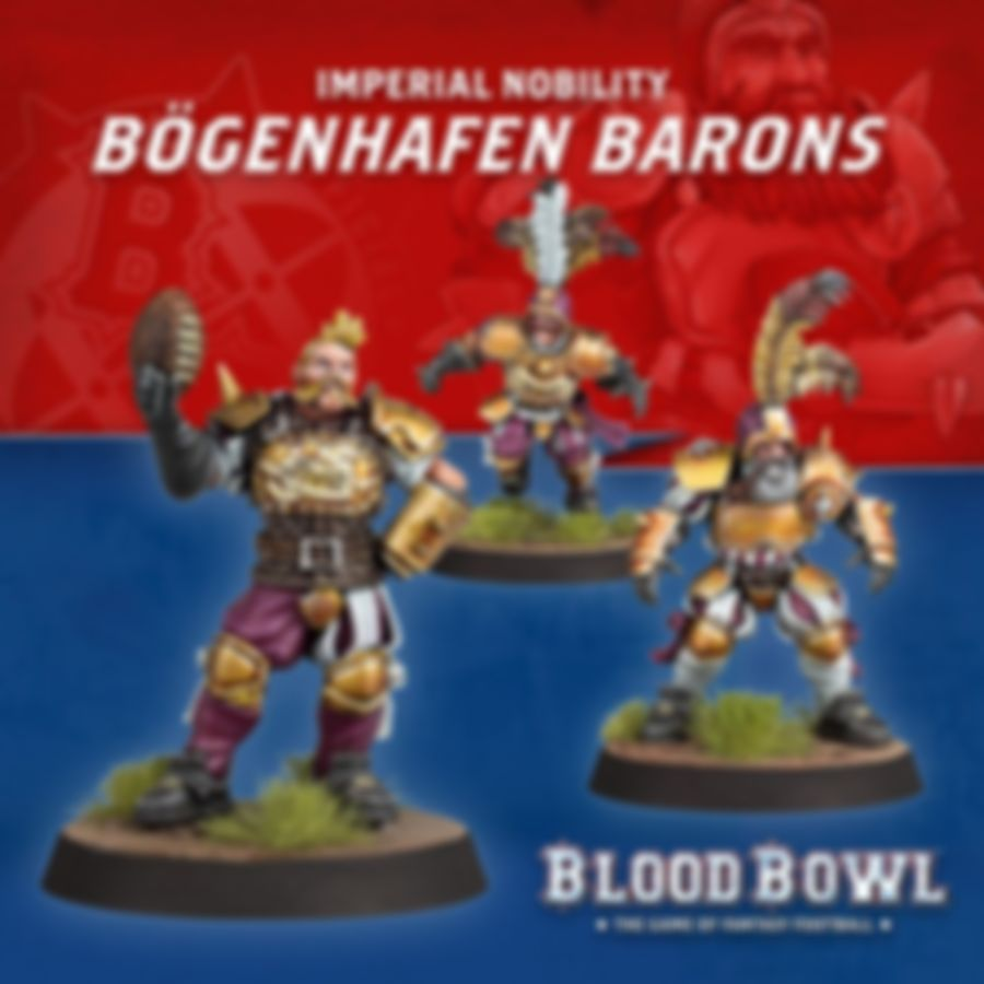 Blood Bowl: Second Season Edition miniatures