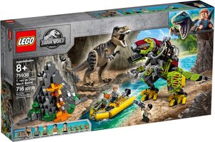 LEGO® Jurassic World T. rex vs Dino-Mech Battle