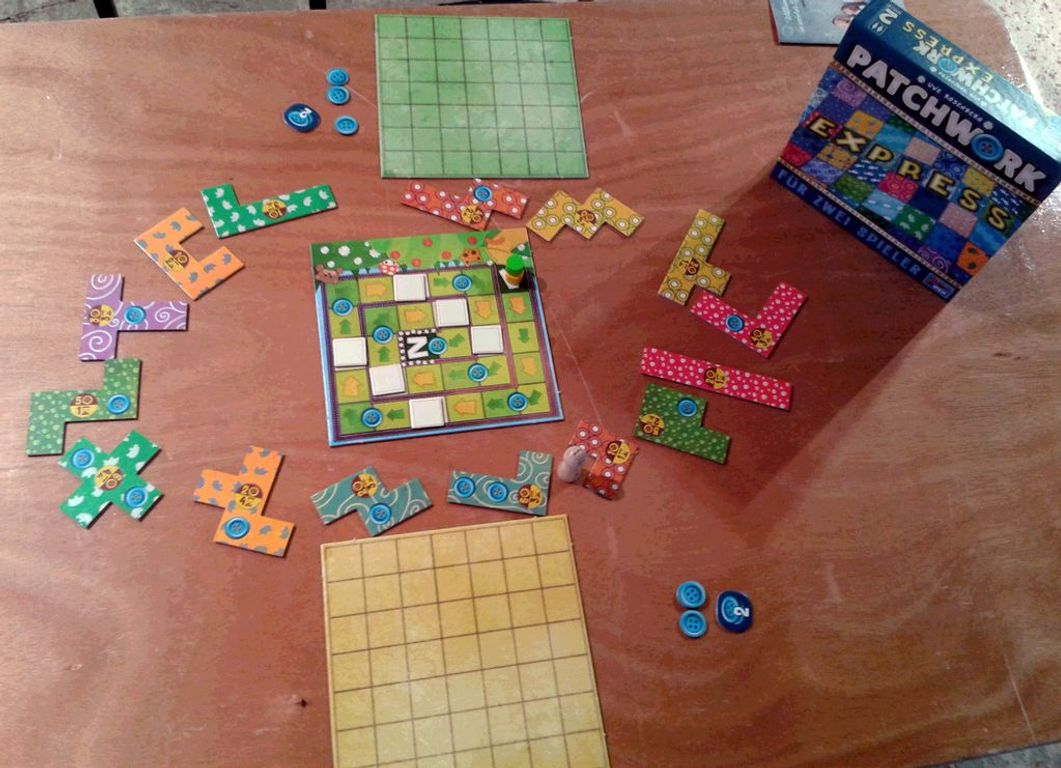 Patchwork Express components