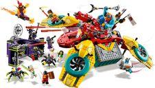 LEGO® Monkie Kid Monkie Kid's Team Dronecopter minifigures